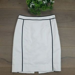 White House Black Market fitted pencil skirt 6